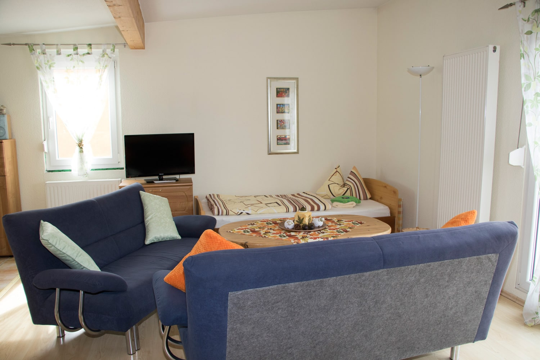 Appartement-Fernseher-Ecke