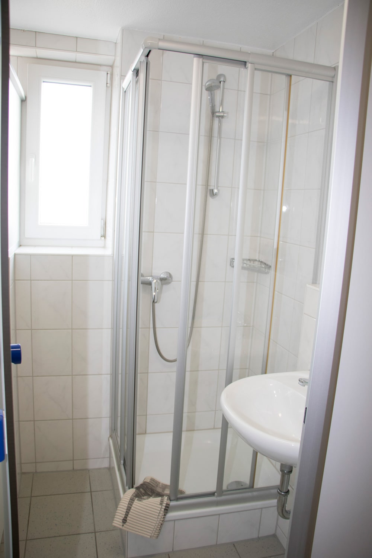 Einfache-Dusche