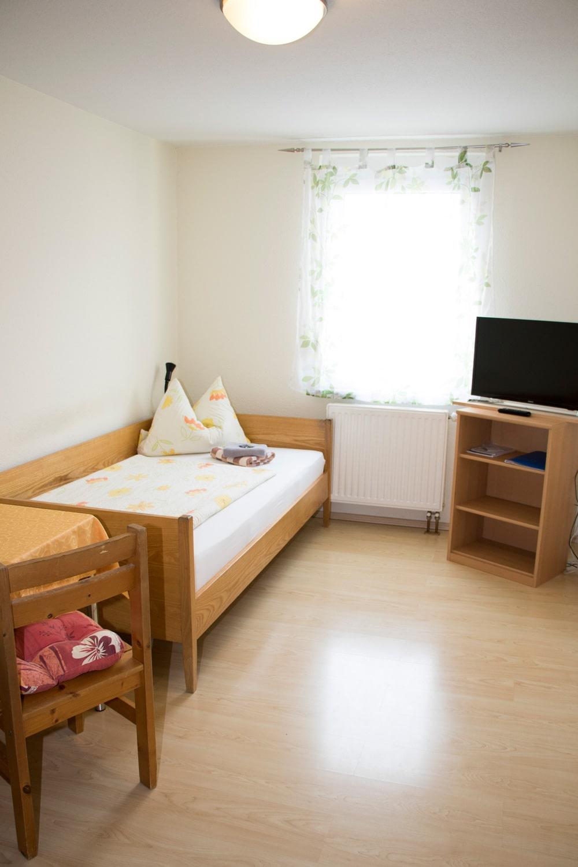 Einfaches-Einzelbett