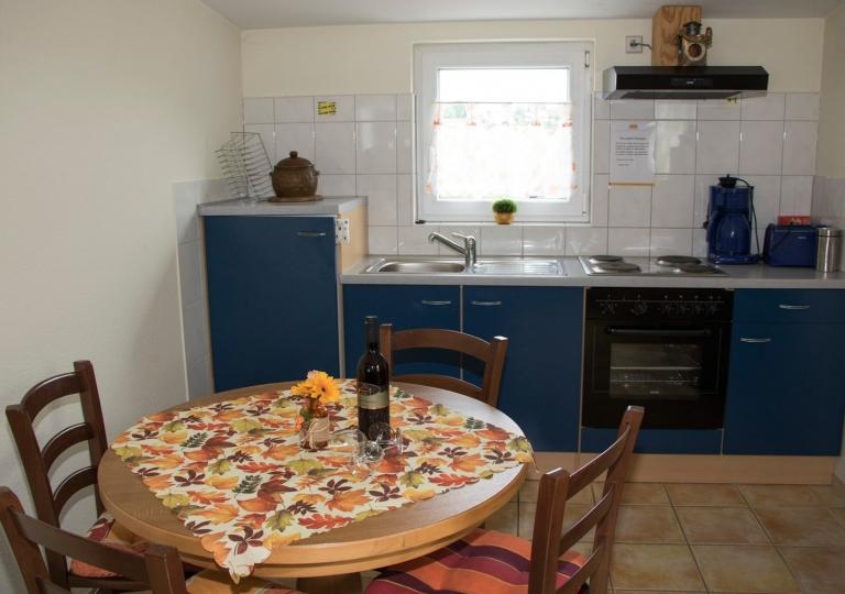 Appartement-Küchenzeile